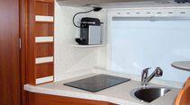Lesermobil Trainer-Bus Küchenzeile