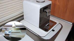 Lesertipp Halterung Kaffeemaschine