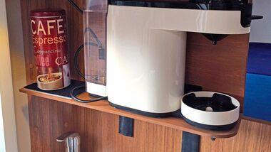Lesertipp Halterung für Kaffeemaschine
