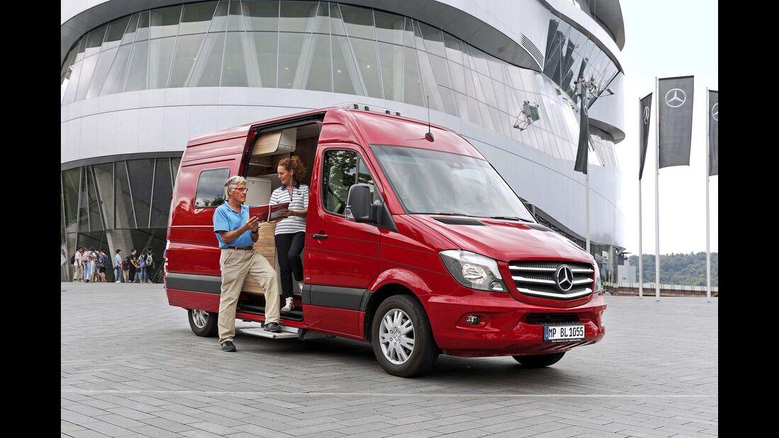 Leserwahl Campingbusse mit Bad 2025