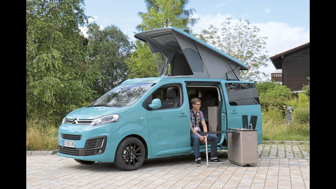 Leserwahl Kompakt-Campingbusse 2024