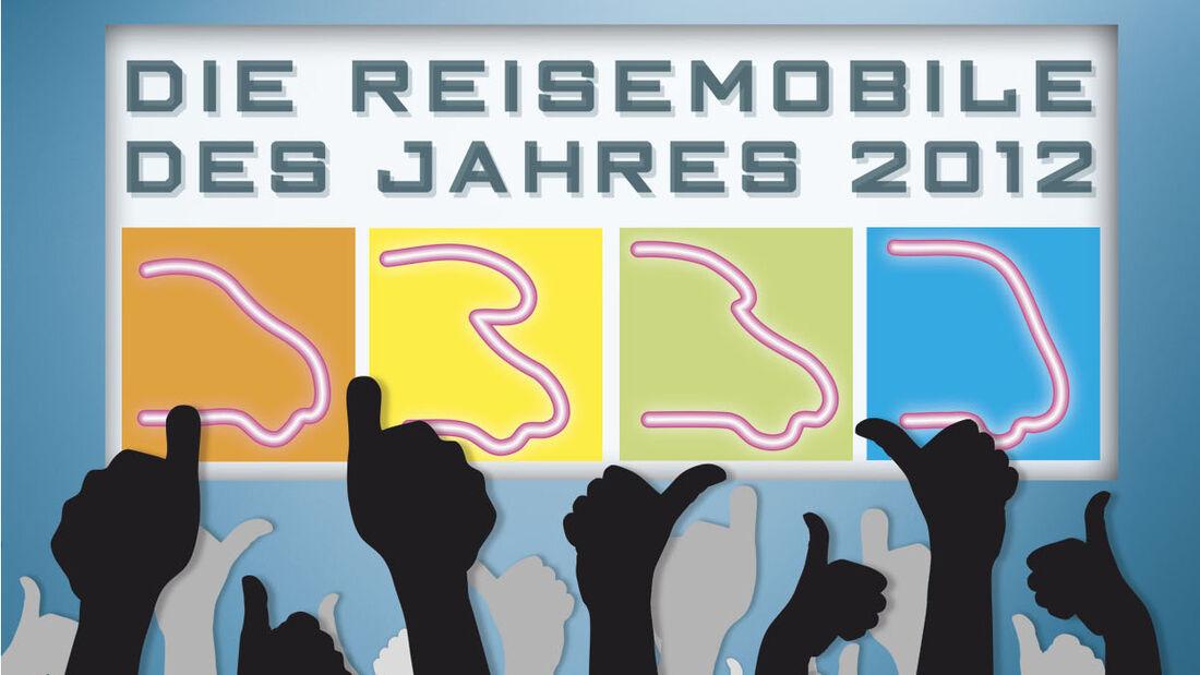Leserwahl: Reisemobile des Jahres