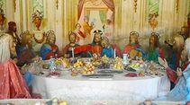 Letztes Abendmahl Varallo Piemont Italien