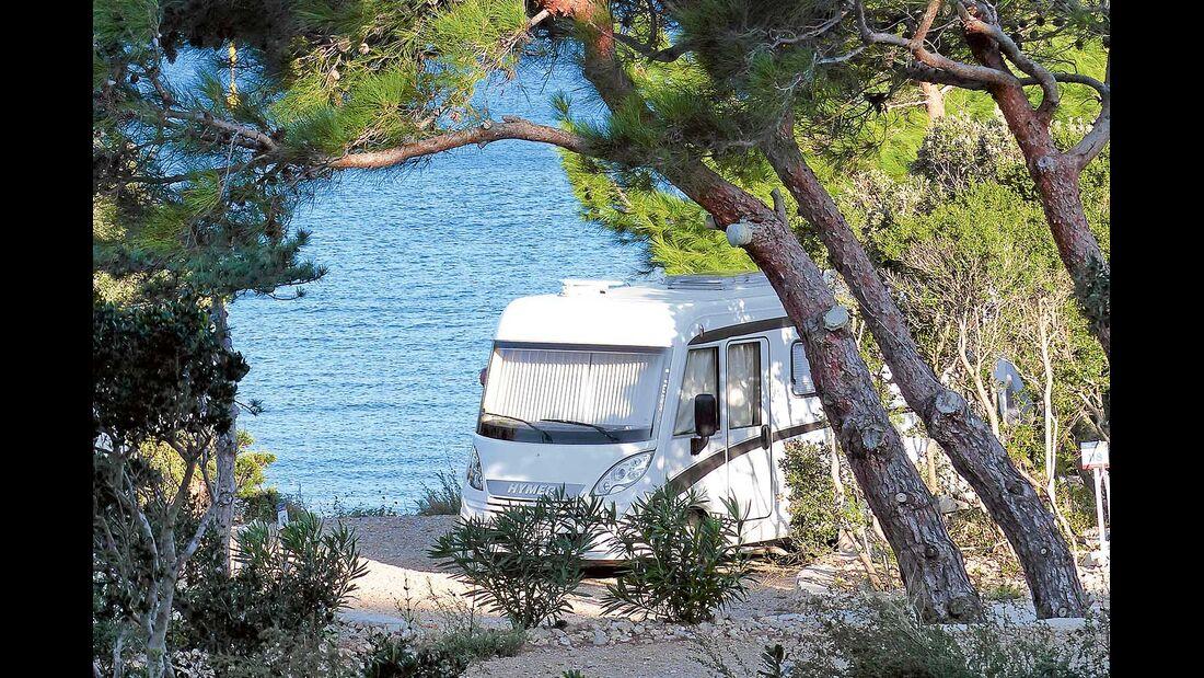 Liebesleben Lust beim Camping Wohnmobil