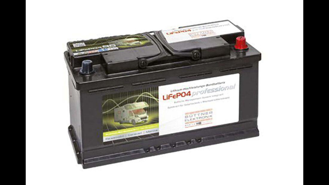 Lithium-Batterie Büttner Elektronik