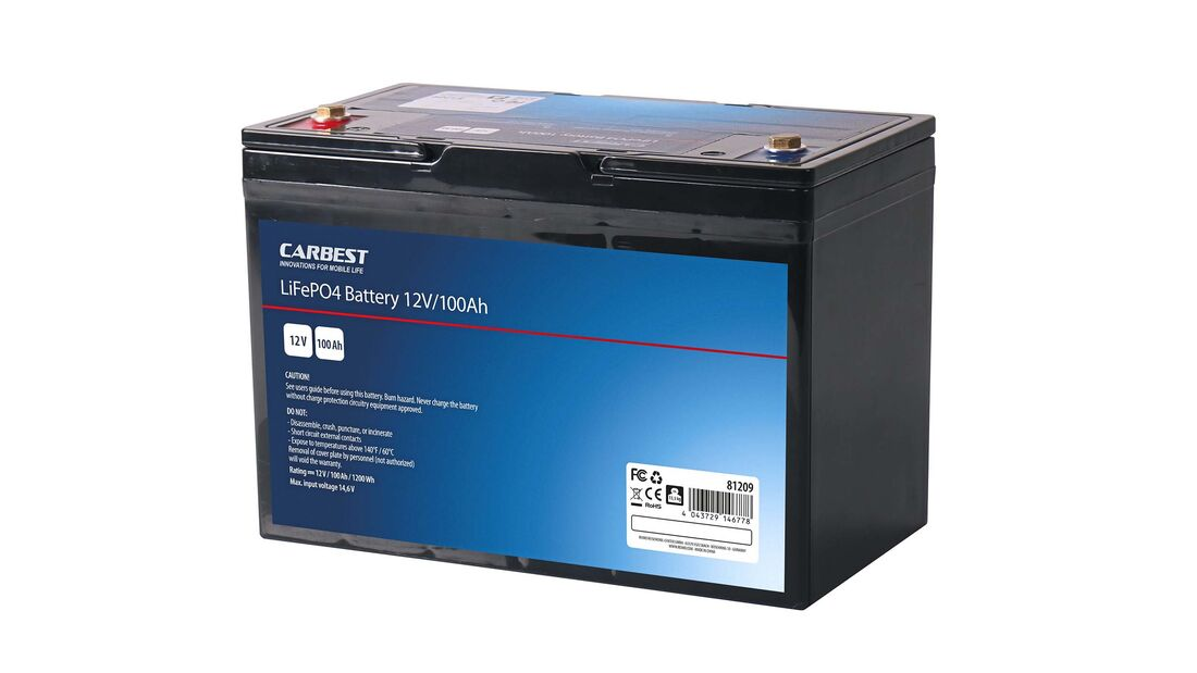 Lithium-Batterie Carbest
