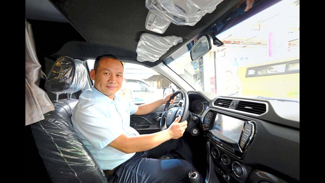 Liu Yujiao, Vertriebsleiter von Livezone