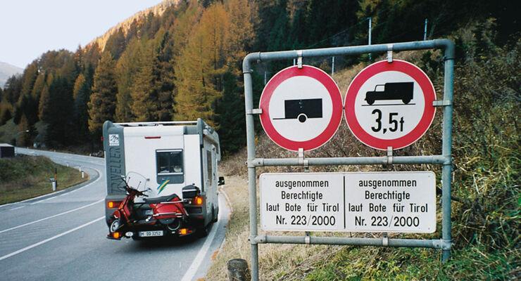 Lkw-Verbot nicht für Mobile