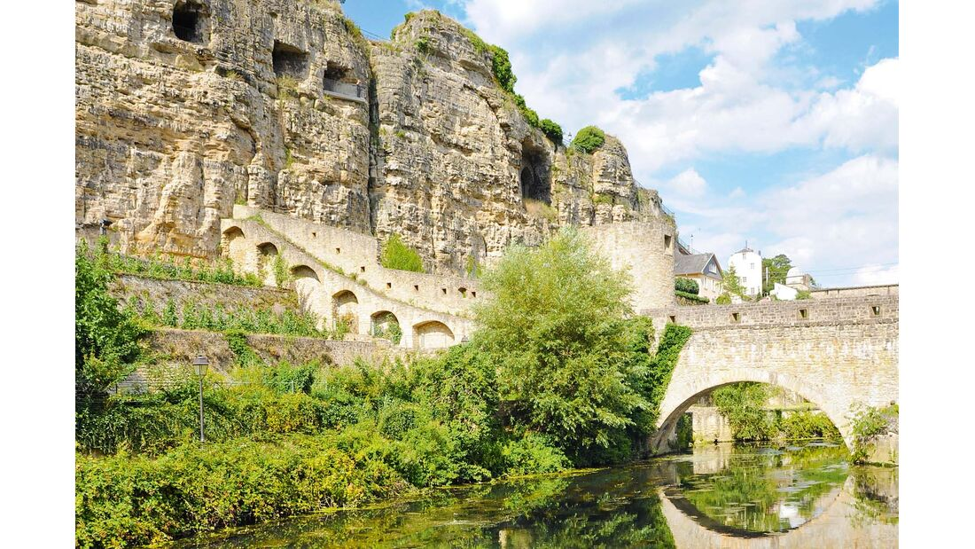 Luxemburgs Kasematten sind so weitläufig und verzweigt.