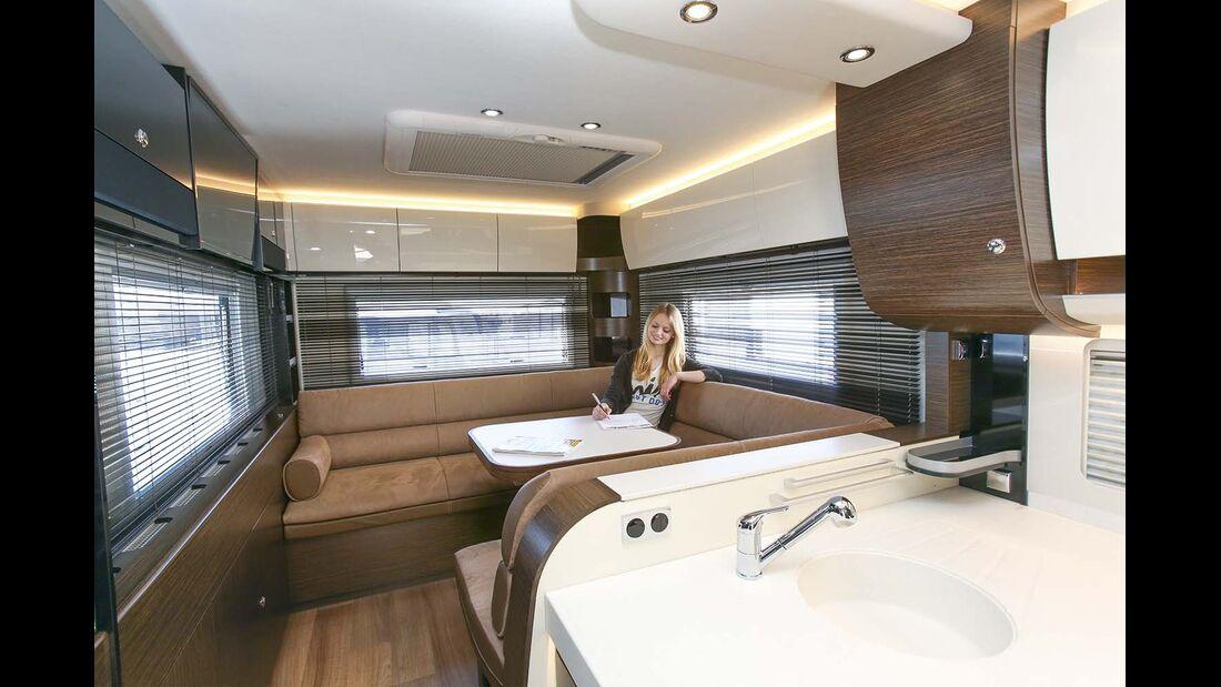 Luxus Wohnmobile 2017 Modelljahr