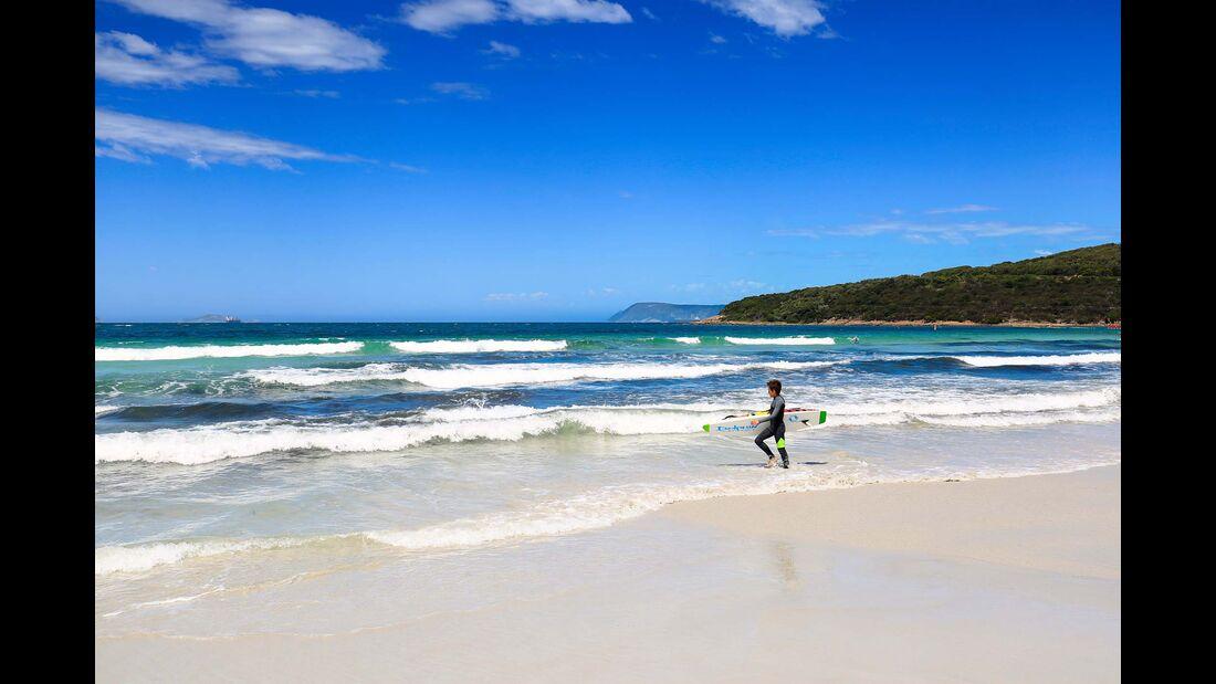 MT Westaustralien Surfer Albany