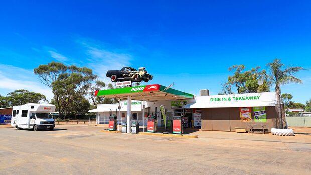 MT Westaustralien Tankstelle