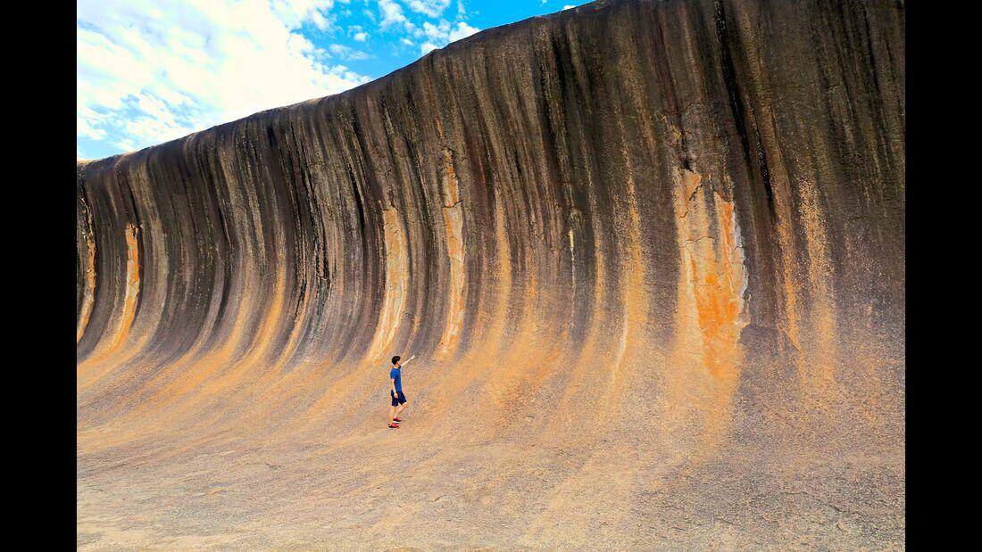 MT Westaustralien Wave Rock