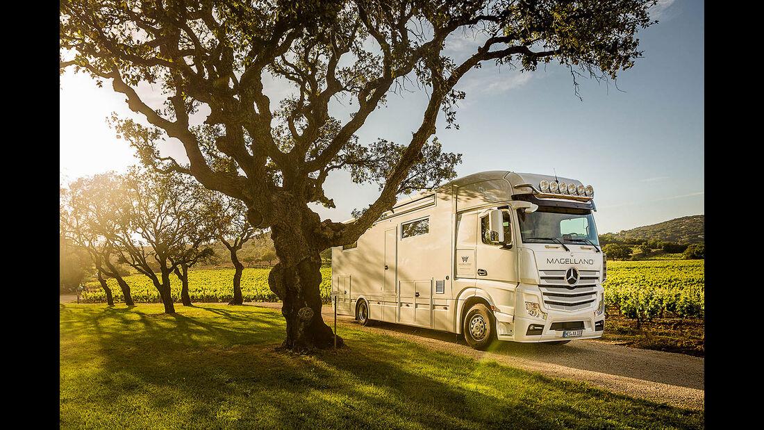 Magellano Luxus-Reisemobil
