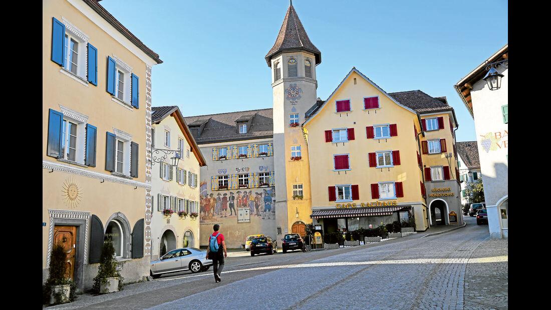 Maienfeld Heimat der Kinderbuch-Heldin Heidi