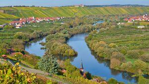 Mainschleife bei Volkach und Escherndorf