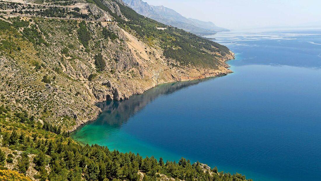 Makarska-Riviera bei Brela
