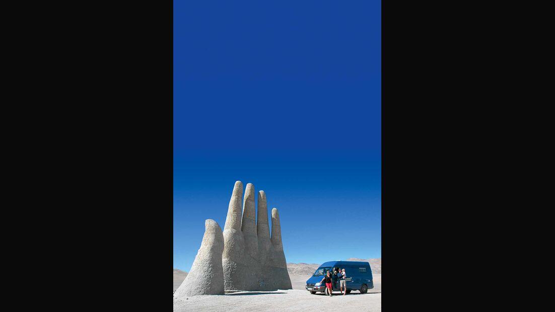 Mano del Desierto Chile Atacama-Wüste