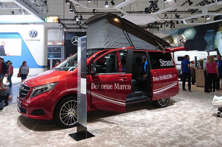 Marco Polo Horizon (2018) Caravan Salon 2017
