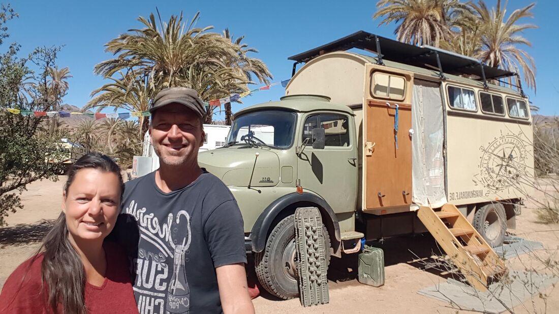 Maren und Ralph in Marokko