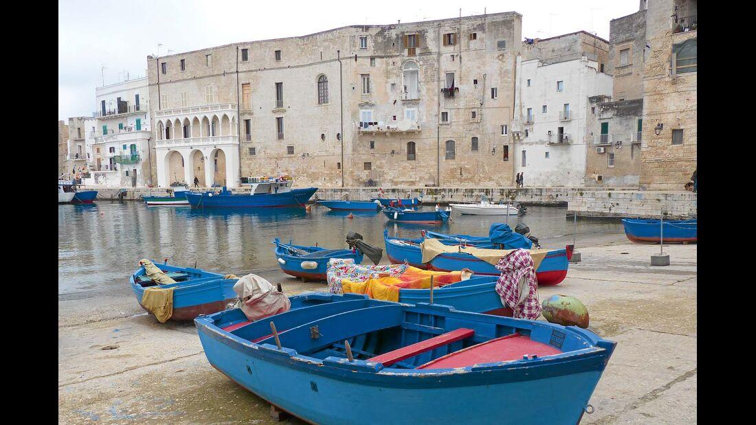 Marina von Monopoli in Apulien