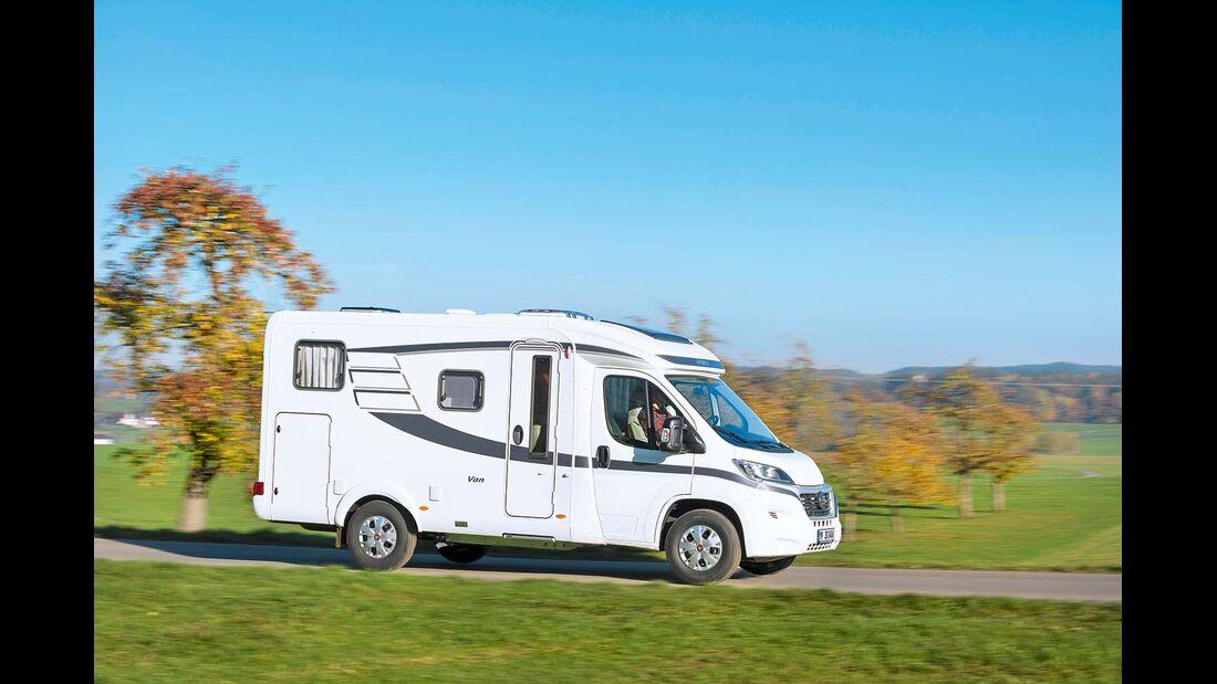 Markenkenner entdecken beim Van 374 manche Elemente bekannter Modelle.