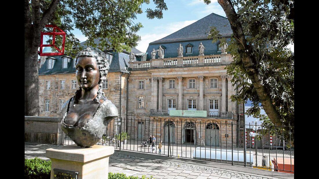 Markgräfliches Opernhaus Bayreuth.