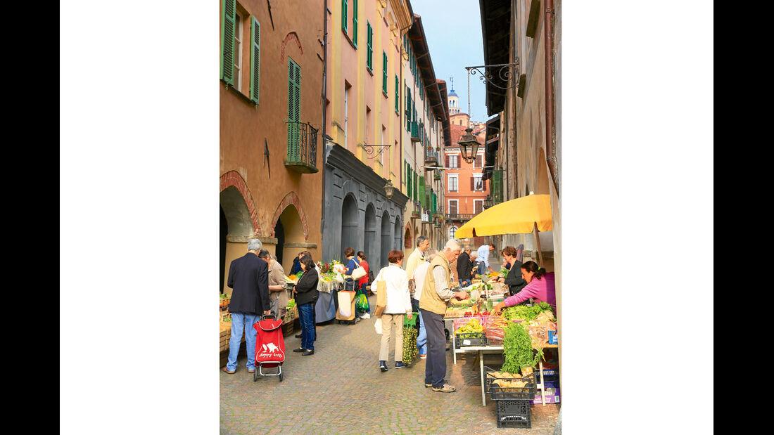 Markt in Saluzzo