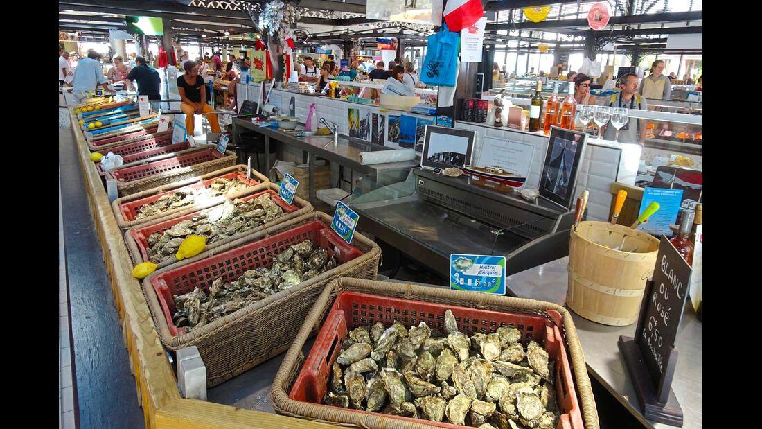 Markthalle von Arcachon