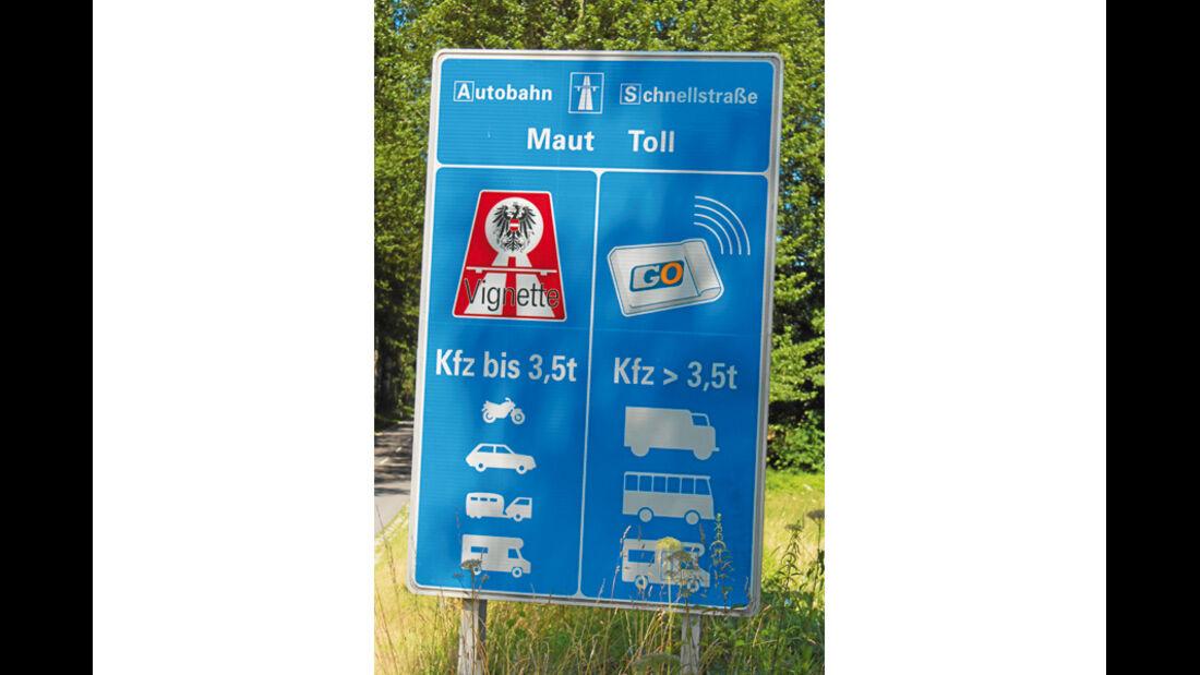 Maut in Österreich