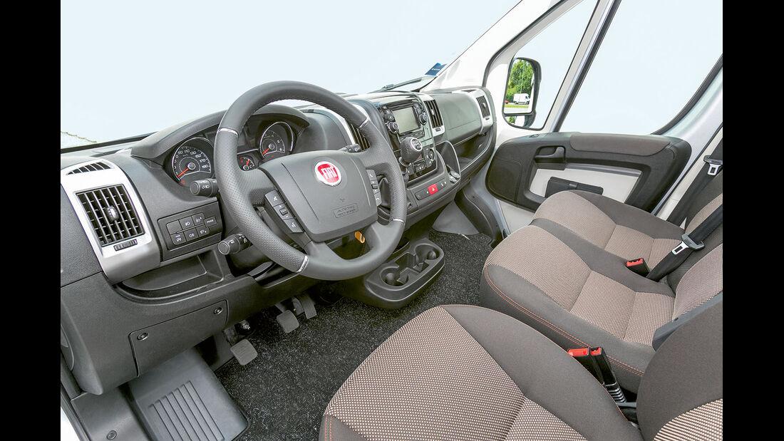 Megatest: Antrieb, Fiat-Armaturenbrett