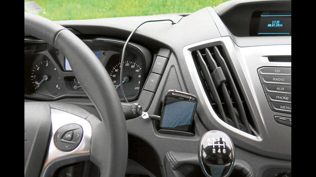 Megatest: Antrieb, Ford-Ablage