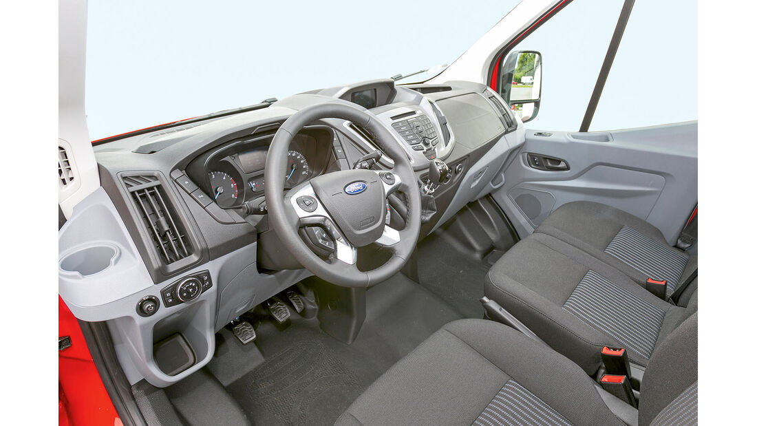 Megatest: Antrieb, Ford-Armaturenbrett