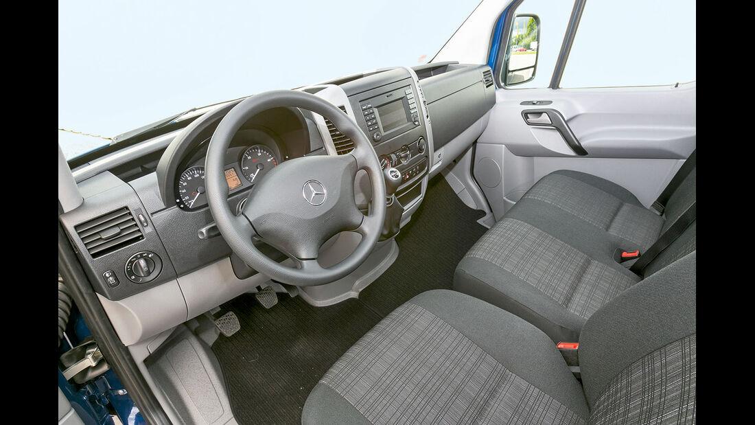 Megatest: Antrieb, Mercedes-Armaturenbrett