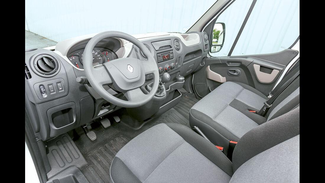 Megatest: Antrieb, Renault-Armaturenbrett
