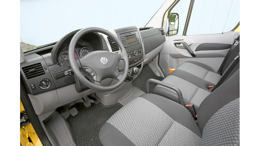 Megatest: Antrieb, VW-Armaturenbrett