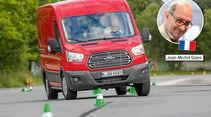 Megatest, Basisfahrzeuge, So testet promobil: Jean-Michel Gales
