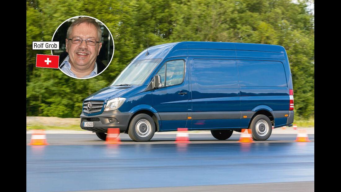 Megatest, Basisfahrzeuge, So testet promobil: Rolf Grob