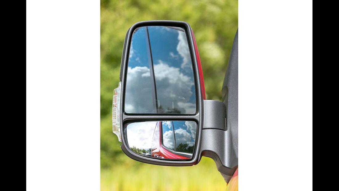 Megatest: Sichtverhältnisse, Fiat-Aussenspiegel