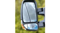 Megatest: Sichtverhältnisse, Renault-Aussenspiegel