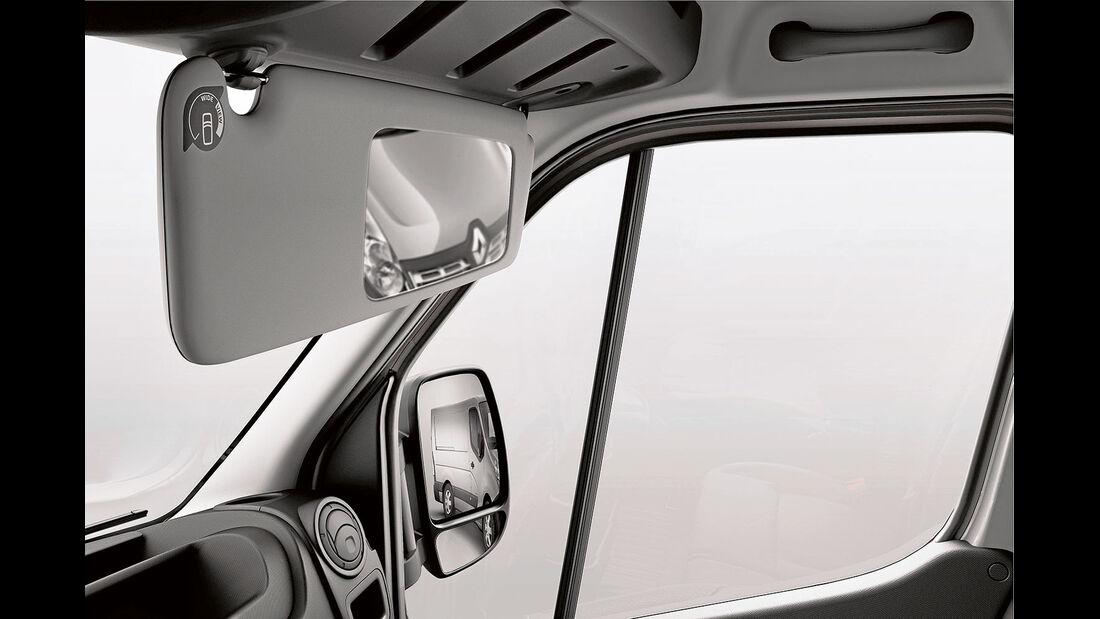 Megatest: Sichtverhältnisse, Renault-Totwinkelspiegel