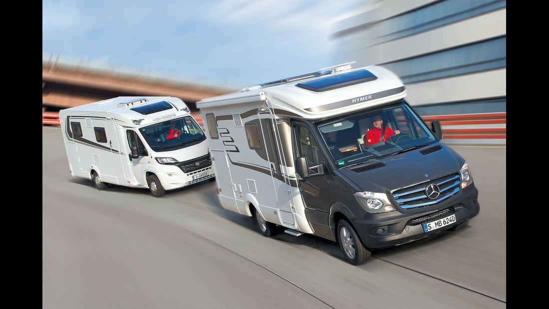 Mehr Reisemobil-Zulassungen bei Fiat