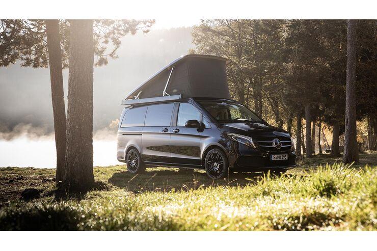 Mercedes Marco Polo (2020): Campervan mit Smart-Home-Technik