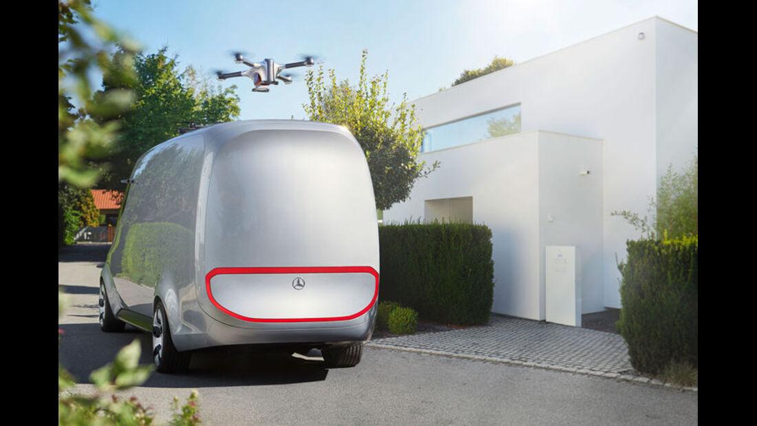 Mercedes-Benz Vision Van (2017)
