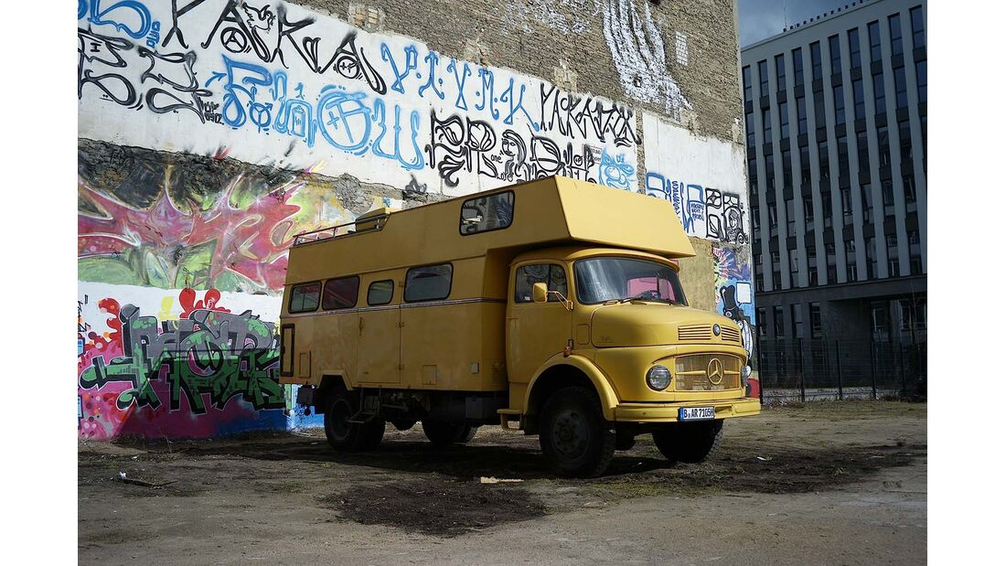 Mercedes Benz Wohnmobil Airbnb