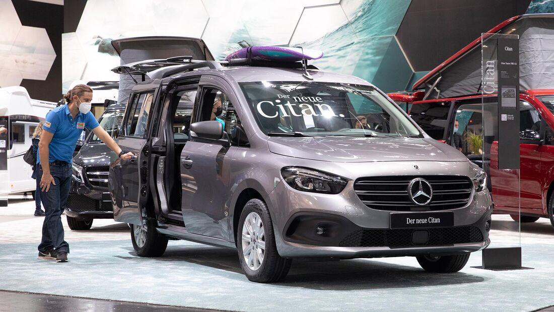 Mercedes Citan mit Vanessa Campingbox (2022)