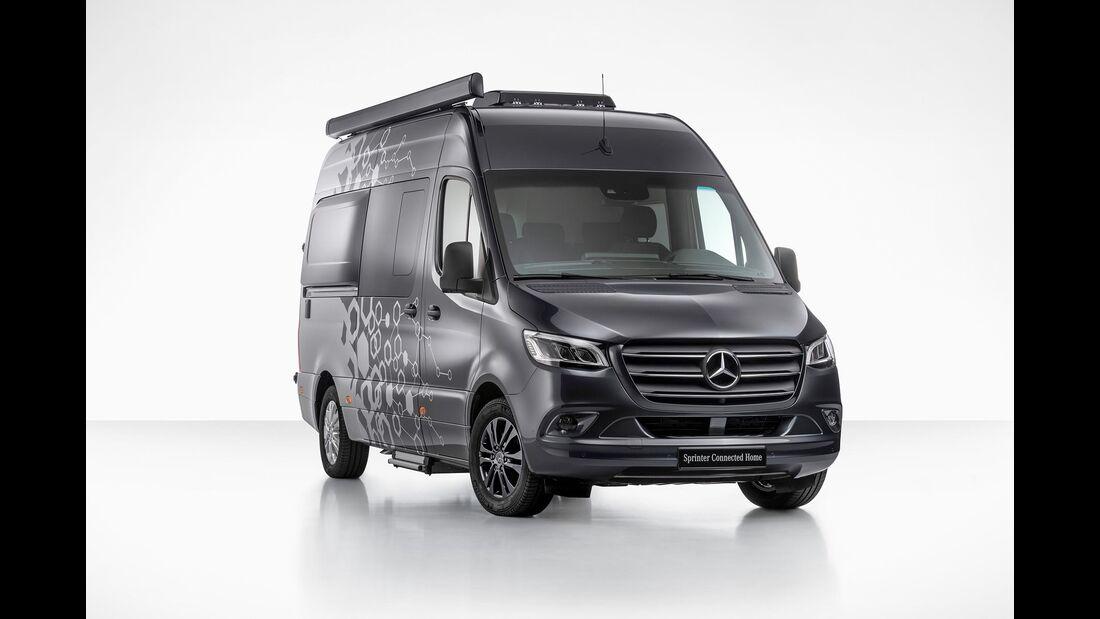 Mercedes Concept Sprinter Connected Home (2019)