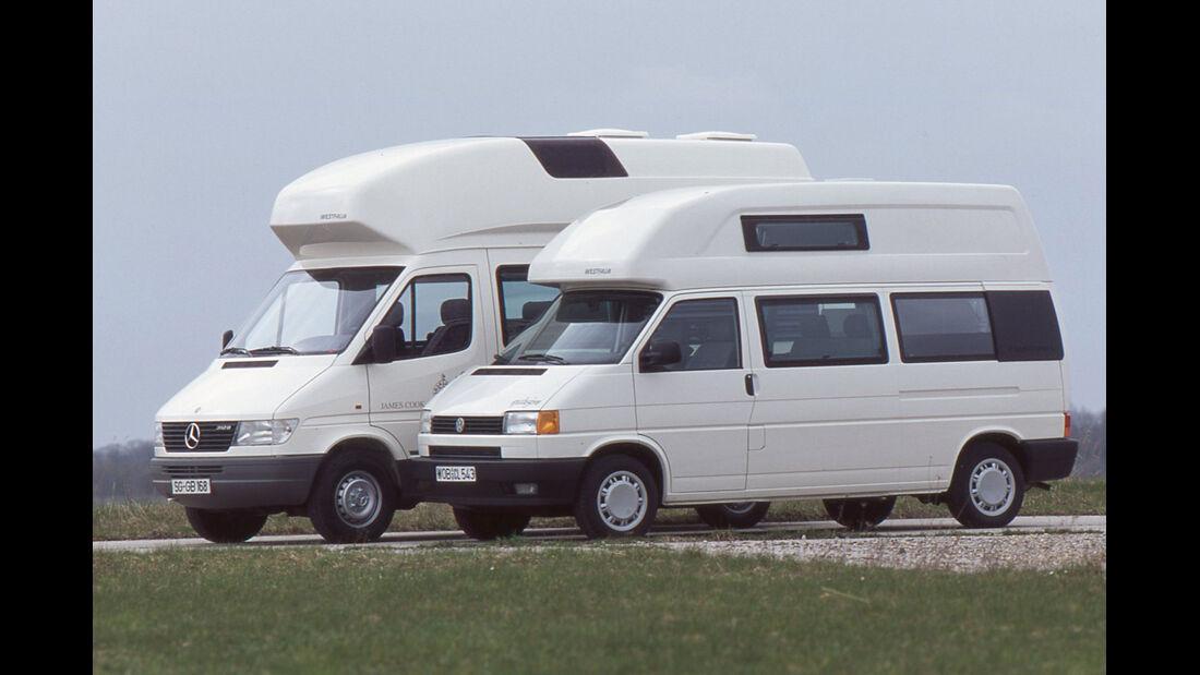 Mercedes James Cook VW California von 1996