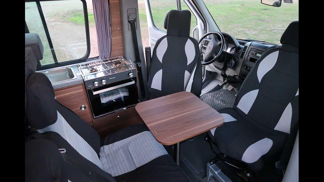 Mercedes Sprinter 4x4 Selbstausbau