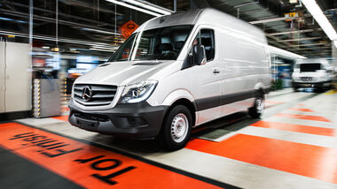 Mercedes Sprinter Generationen 1955 bis 2019